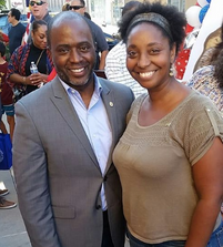With Tony Thurmond, California State Superintendent