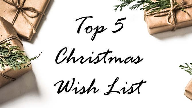 Our Ultimate Top 5 Christmas Products!