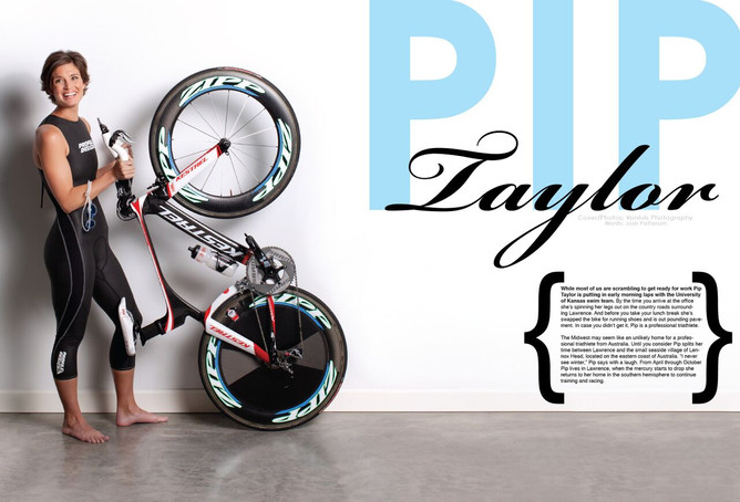 Pip Taylor: Cover Story with FITNESS MAGAZINE