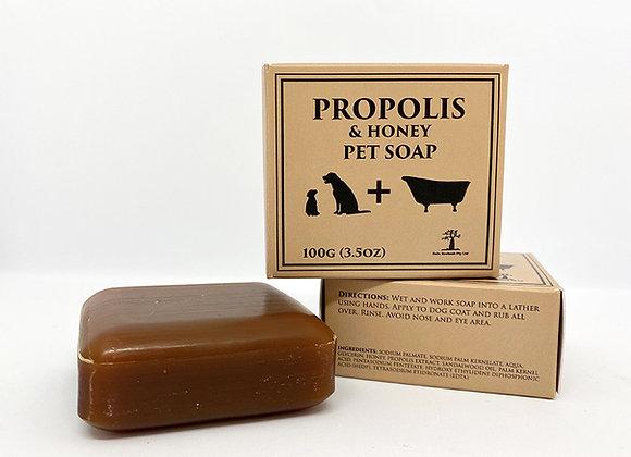 Propolis & Honey Pet Soap - 100g x 3