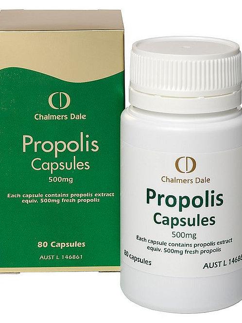 CD Propolis Capsules 500mg: 3 x 80 capsules