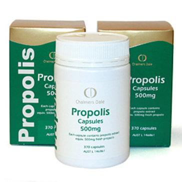 CD Propolis Capsules 500mg: 1 x 370 capsules