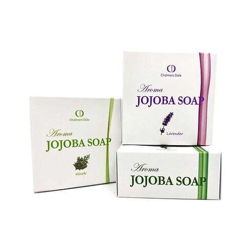 CD Jojoba Aroma Soap: 3 x 100g (1 x Eucalyptus, 1x Hinoki, 1 x Lavender)