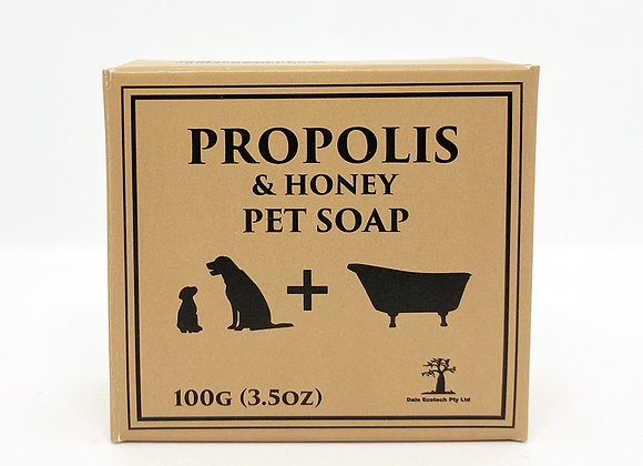 Propolis & Honey Pet Soap - 100g (3.5oz)