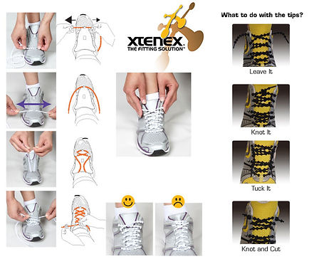 Lacing instruction guide