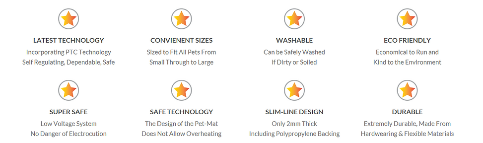 Pet-Mat Technology Product Information