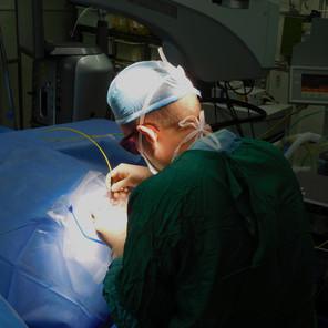 ליווי פיתוח מערכת חדשה לניתוחי קטרקט