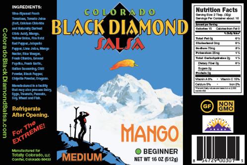CBDS: Medium Mango Salsa