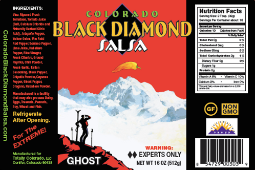 CBDS: Ghost Pepper Salsa