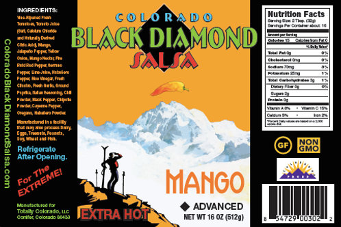 CBDS: Mango Extra Hot Salsa