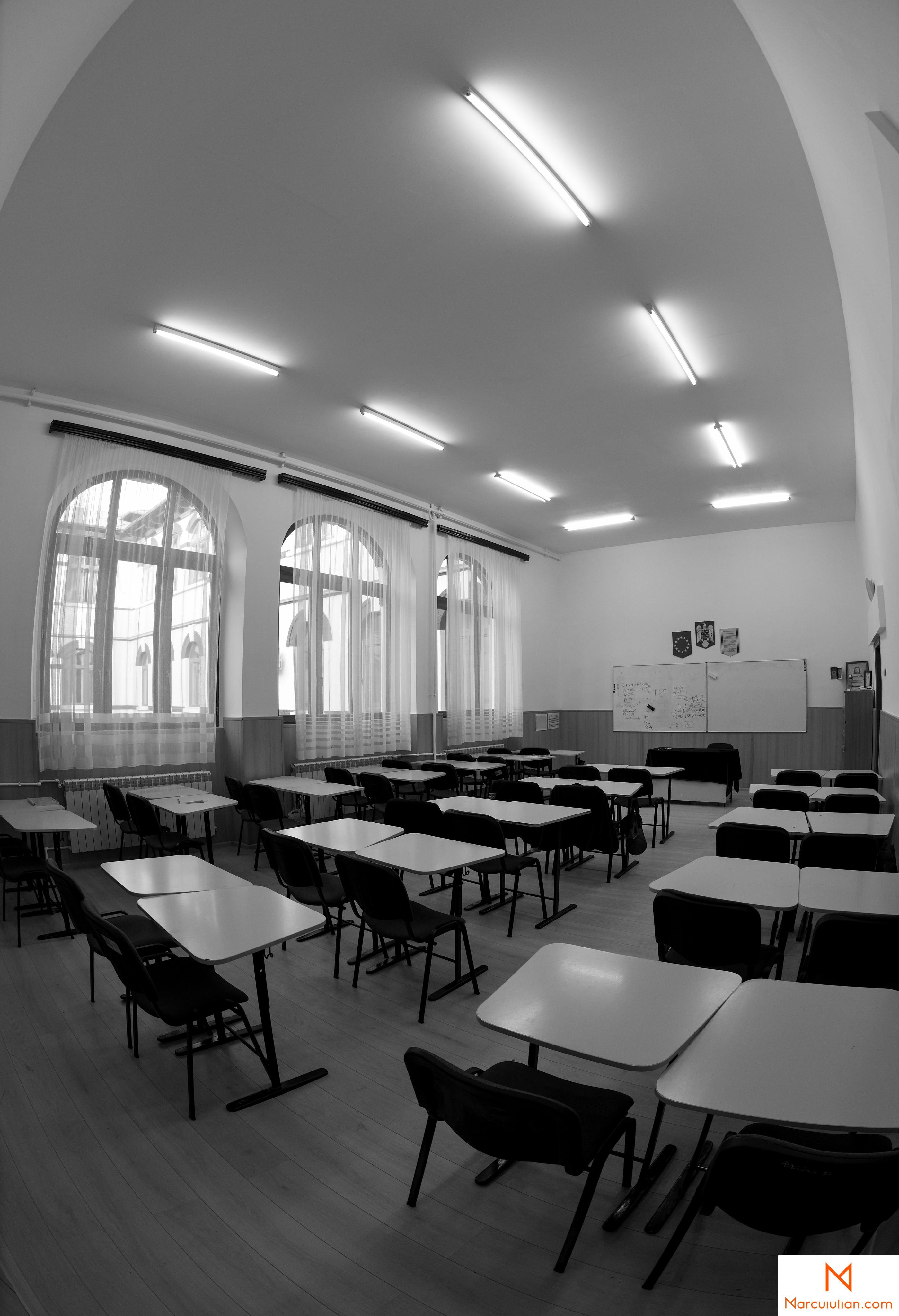 interioare, interior, liceu, colegiu