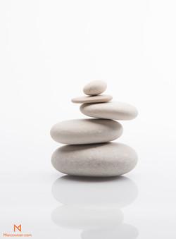 produse, ying, yang, zen, piatra