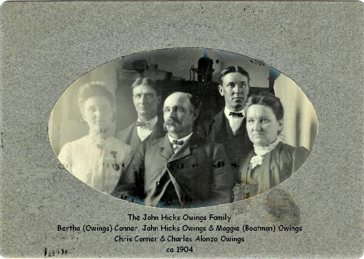 JOHN HICKS OWINGS FAMILY
