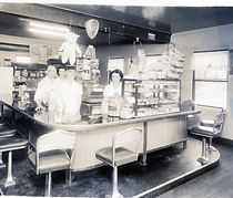 Fred & Birdie Church's Restaurant 1950s[