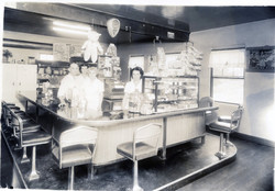 Fred & Birdie Church's Restaurant 1950s[