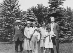 Bill Grossarth, Etta Tattershall Grossar
