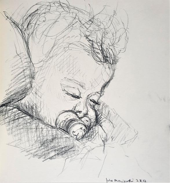 Baby V (Auftragsbild)