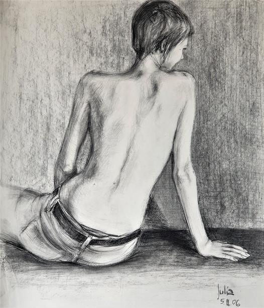 Half nude II