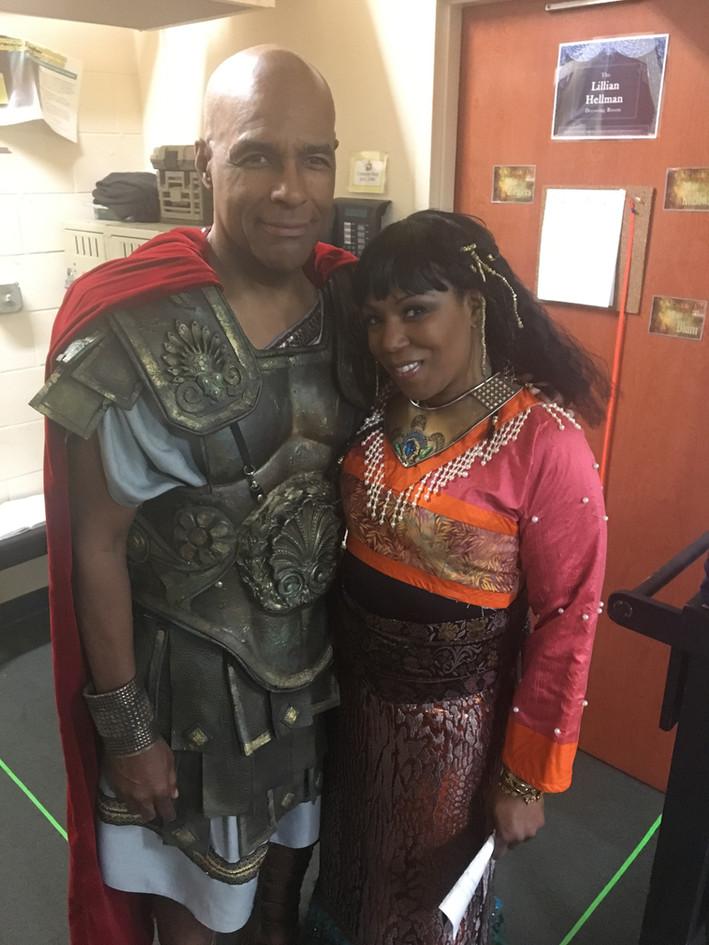 Antony & Cleopatra Shakespeare Theatre Opposite Michael Dorn of Star Trek