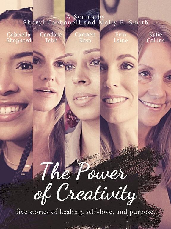 The Power of Creativity Docuseries Poster