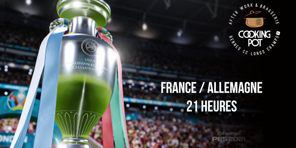 Match FRANCE/ALLEMAGNE