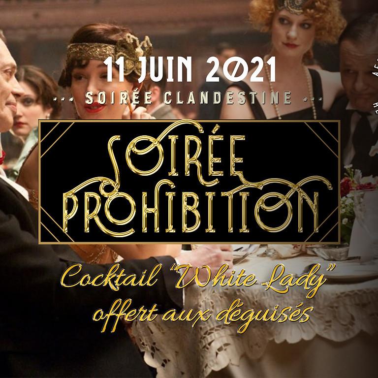 """Soirée """"Prohibition"""" années 20 ! (déguisement recommandé 😉 et récompensé)"""