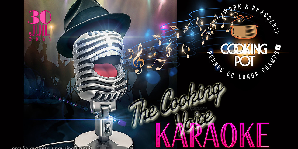 Karaoké ! The Cooking Voice !