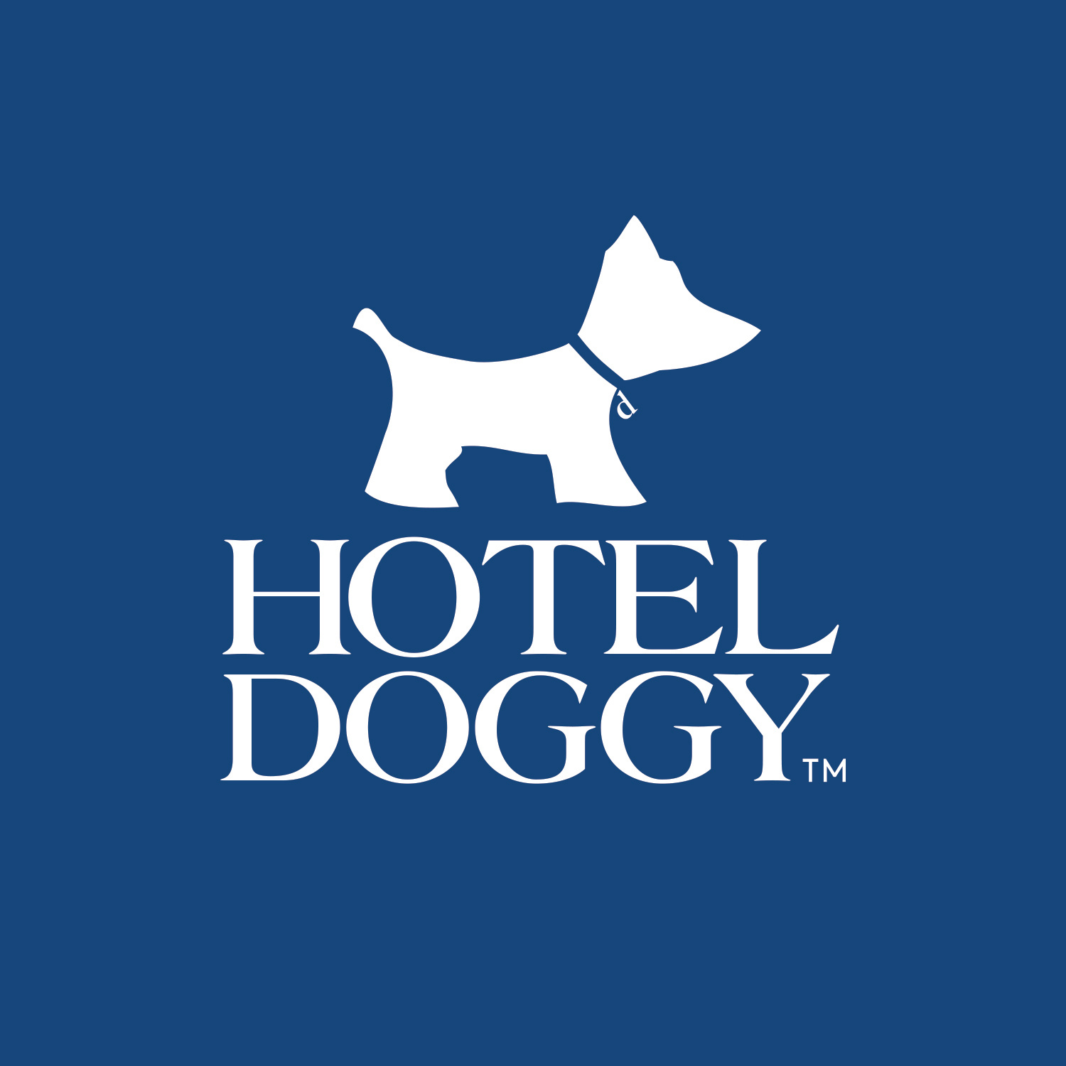 HOTEL DOGGY LOGO - BLOCK