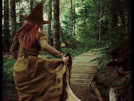 Kitchen Witches and Wild Witches // Emily Hall