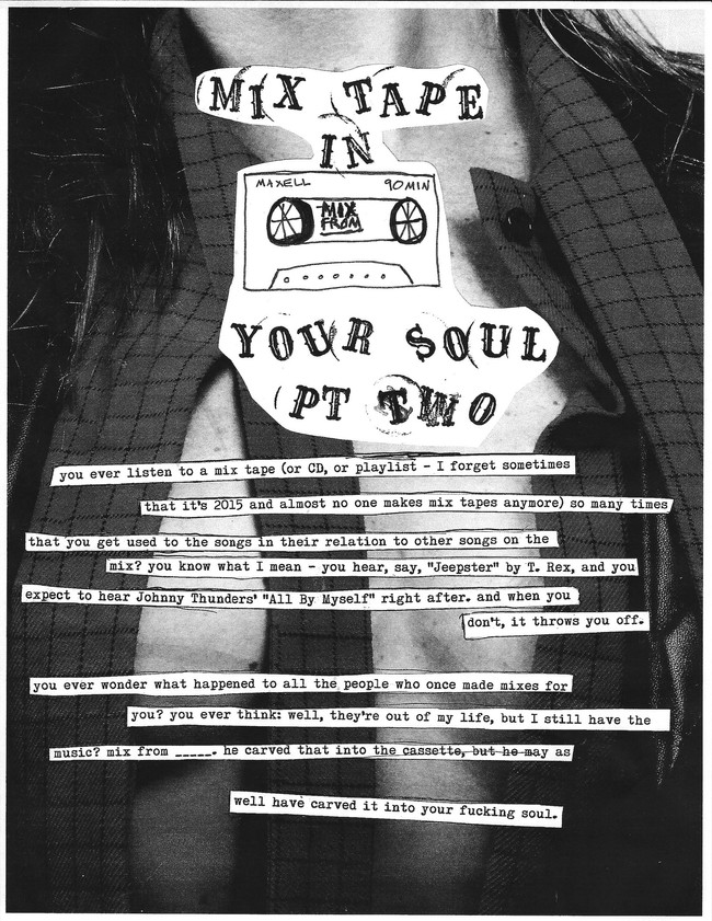 mix tape in your soul pt. two