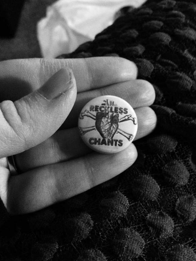 two new zines + Reckless Chants buttons now available