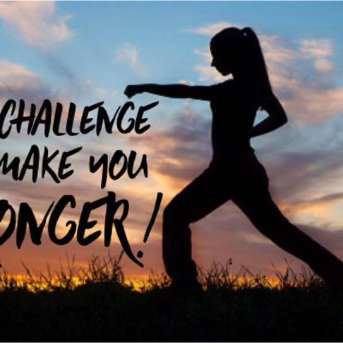 This Challenge will make me STRONGER!