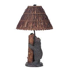 Cal Lighting Bear & Honeybee Table Lamp