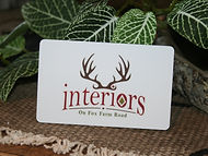 Interiors Gift Cards