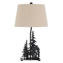 Cal Lighting Cowboy Table Lamp