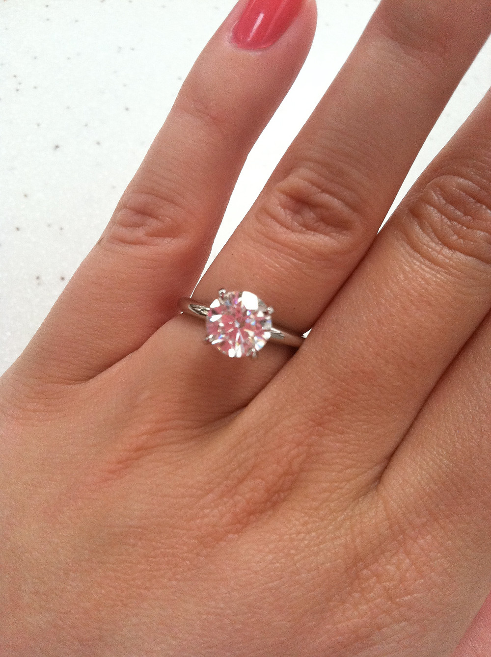 born-to-be-a-bride-engagement-ring-how-to-clean-diamonds-at-home