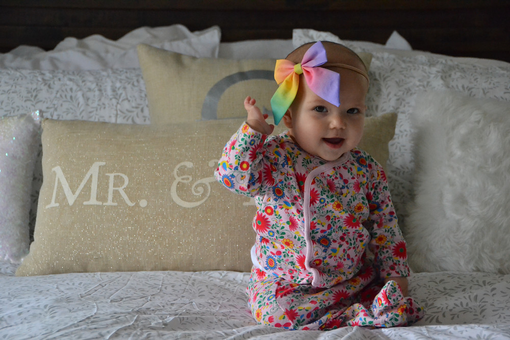 new-baby-floral-print-rainbow-baby-blogger-our-life-in-rose-gold