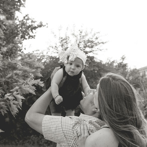 Willow's Six Month Photo Shoot