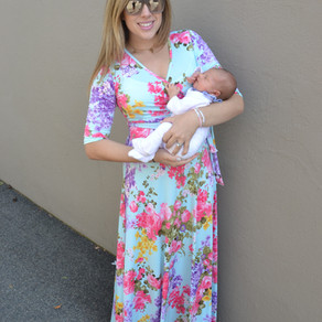 Post-Partum Fall Fashion from Pink Blush
