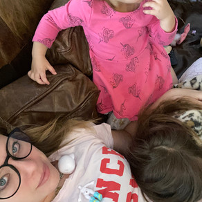 """I'm """"Losing it"""" in Self-Isolation with Two Young Children"""