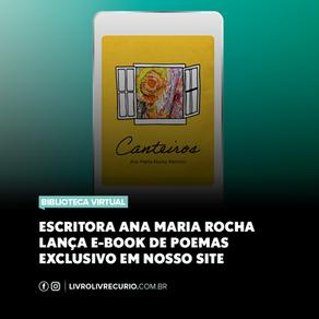 """Leia """"Canteiros"""" Livro de Ana Maria Rocha Barrozo publicado pelo Selo Enluaradas"""