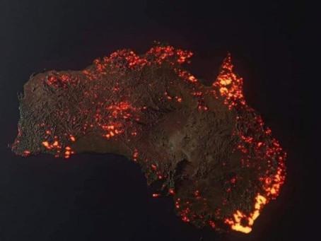 L'Effet papillon : l'Europe est en colère, l'Australie s'embrase! Soyez conscients de votre pouvoir