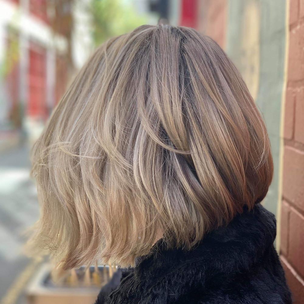 multi-tone blonde