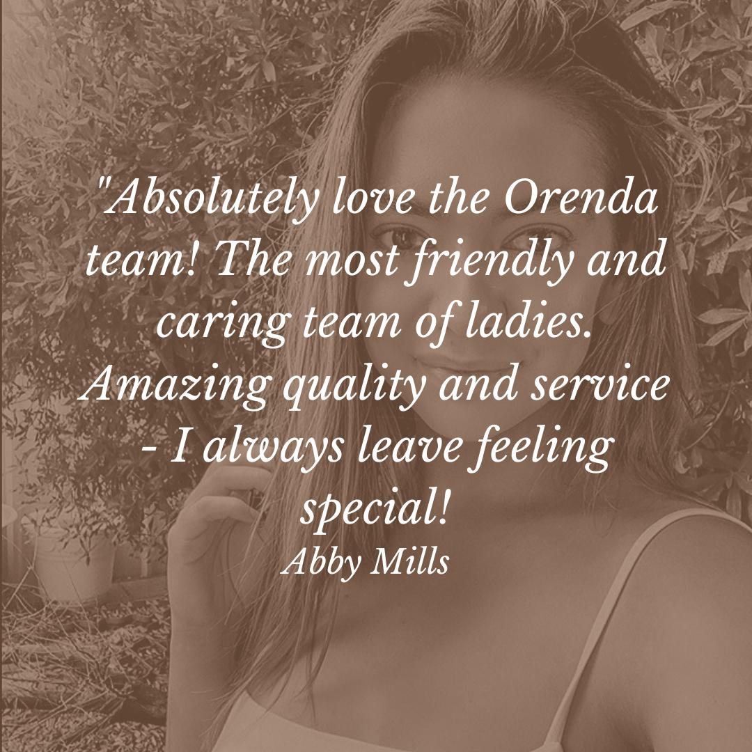 Orenda hair review Abby
