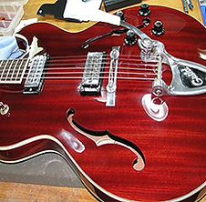 1958 gretsch country club side by side 2
