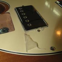 Making a Vintage Amber Pickguard