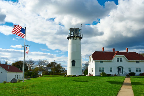 Chatham Lighthouse at Cape Cod, Massachu