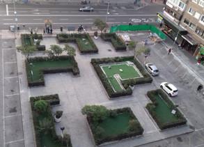 Comienzan las obras de la plaza