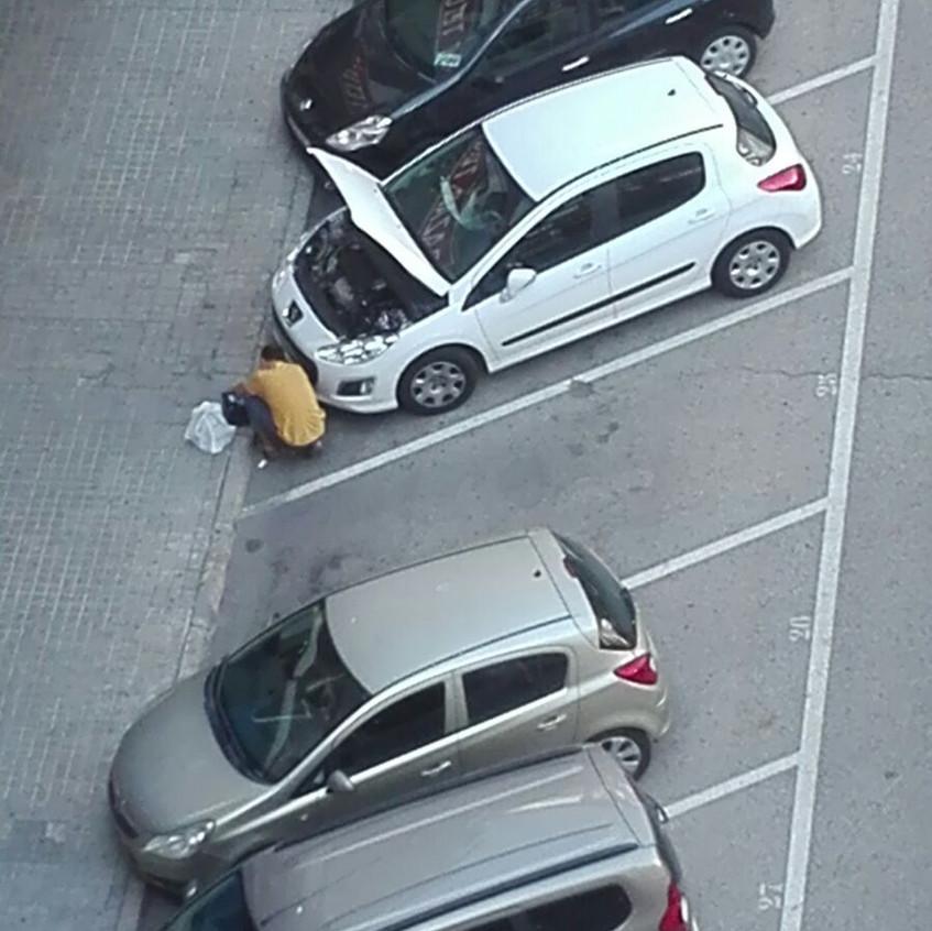 Plaza - taller de coches