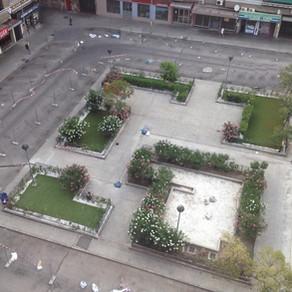 Solución que propone el Ayuntamiento para la plaza